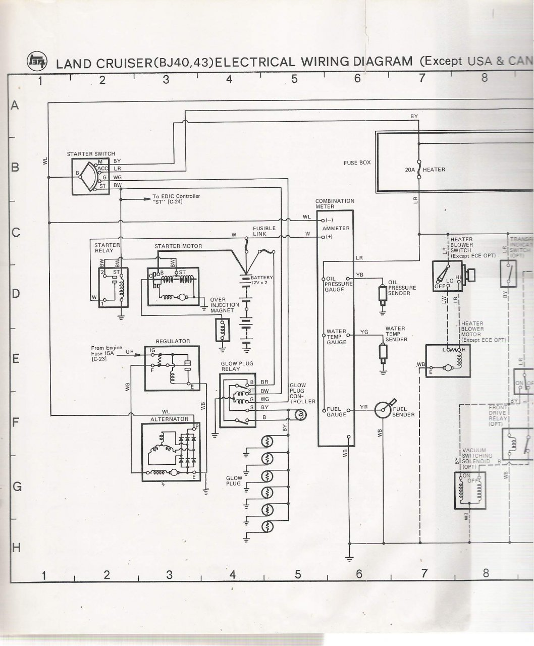 1977 fj40 wiring diagram electric motor symbols electrical schematic for 78 bj40 lhd ih8mud forum