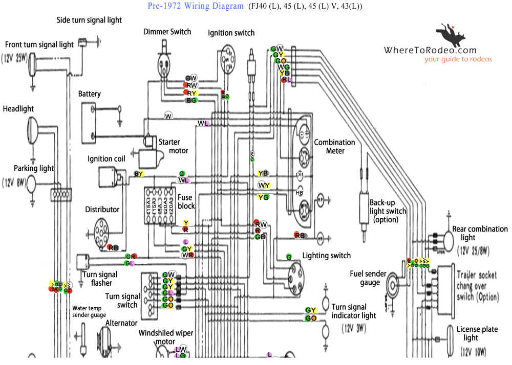 medium resolution of coolerman s electrical schematic and fsm file retrieval fj 40 wiring diagram