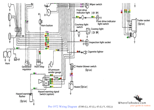 small resolution of coolerman u0027s electrical schematic and fsm file retrievalpre1972 fj40 wiring diagram2 png