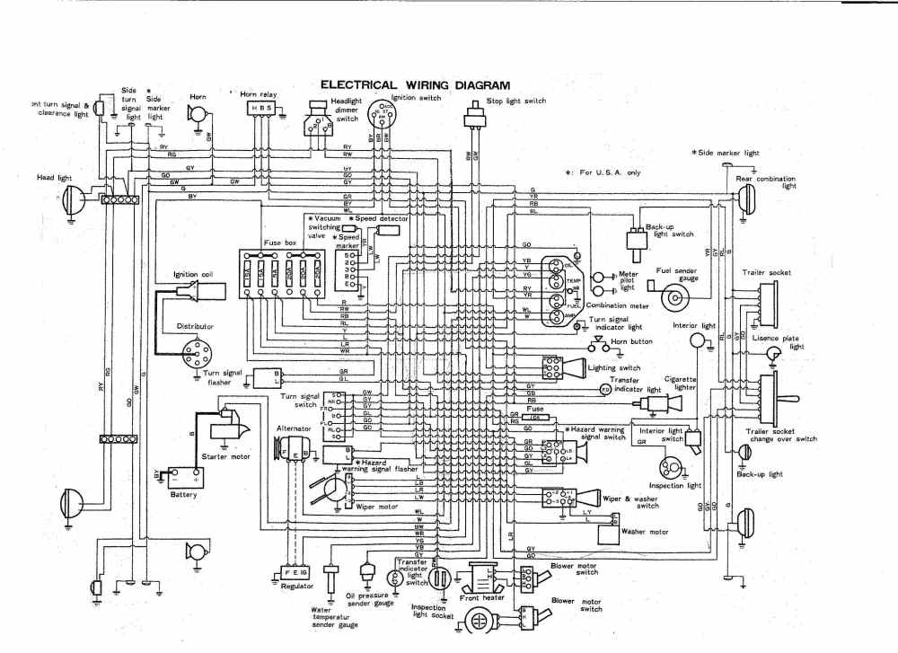 medium resolution of coolerman u0027s electrical schematic and fsm file retrievalfj40 wiring diagram 7