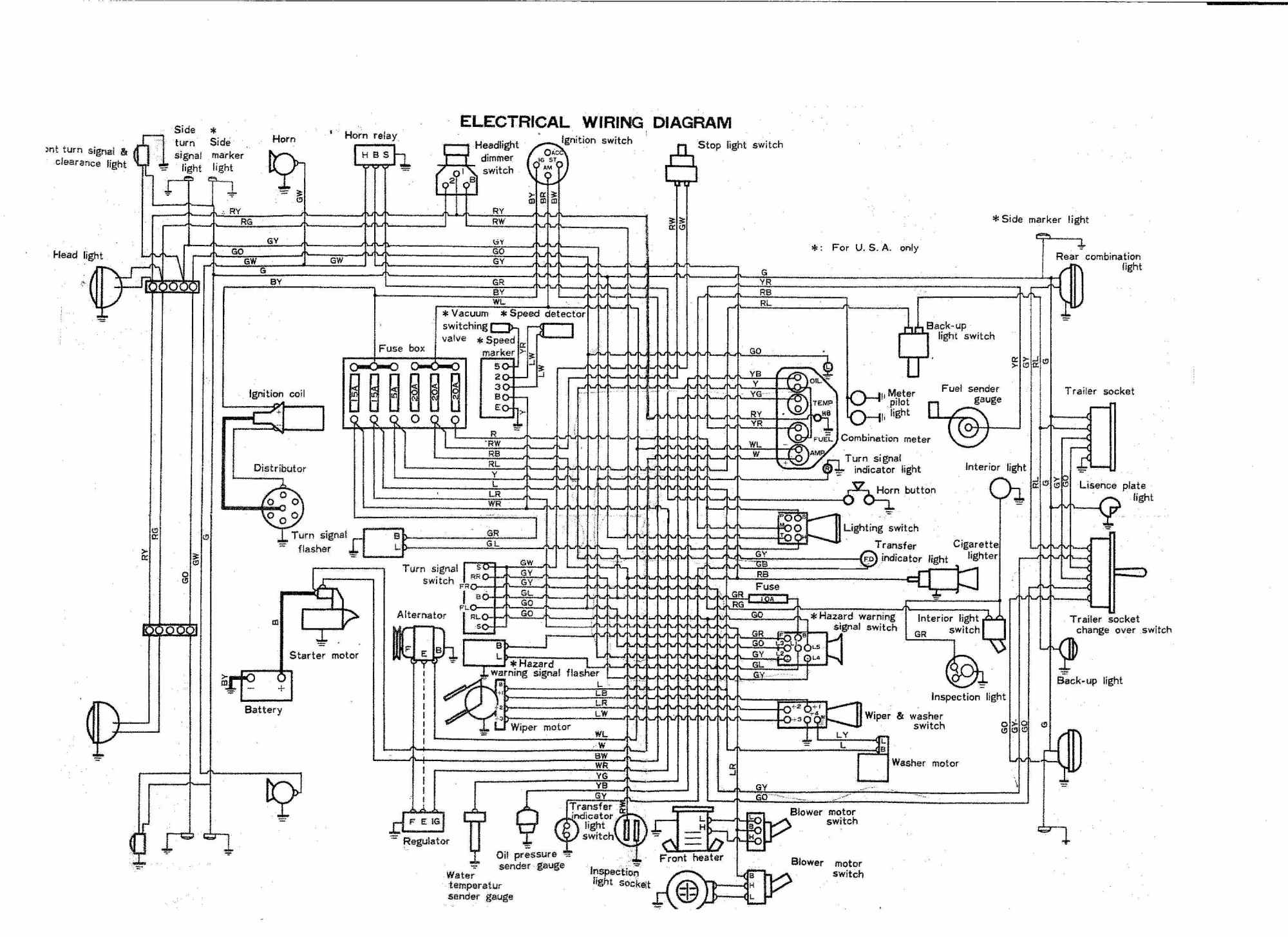 hight resolution of coolerman u0027s electrical schematic and fsm file retrievalfj40 wiring diagram 7