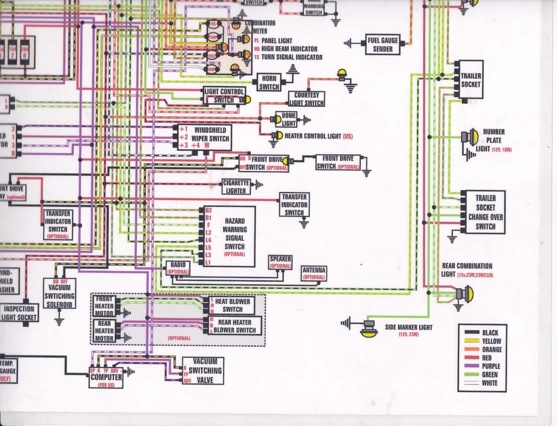 toyota fj40 wiring diagram wb statesman painless harness power steering
