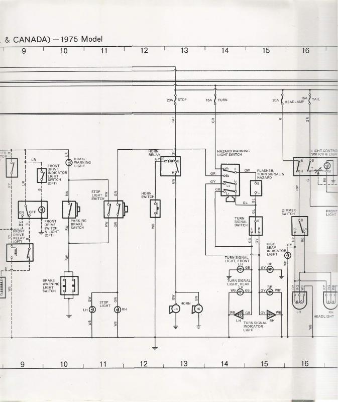 bj40 wiring diagram diagram wiring diagram schematic - 1975 plymouth duster  wiring diagram