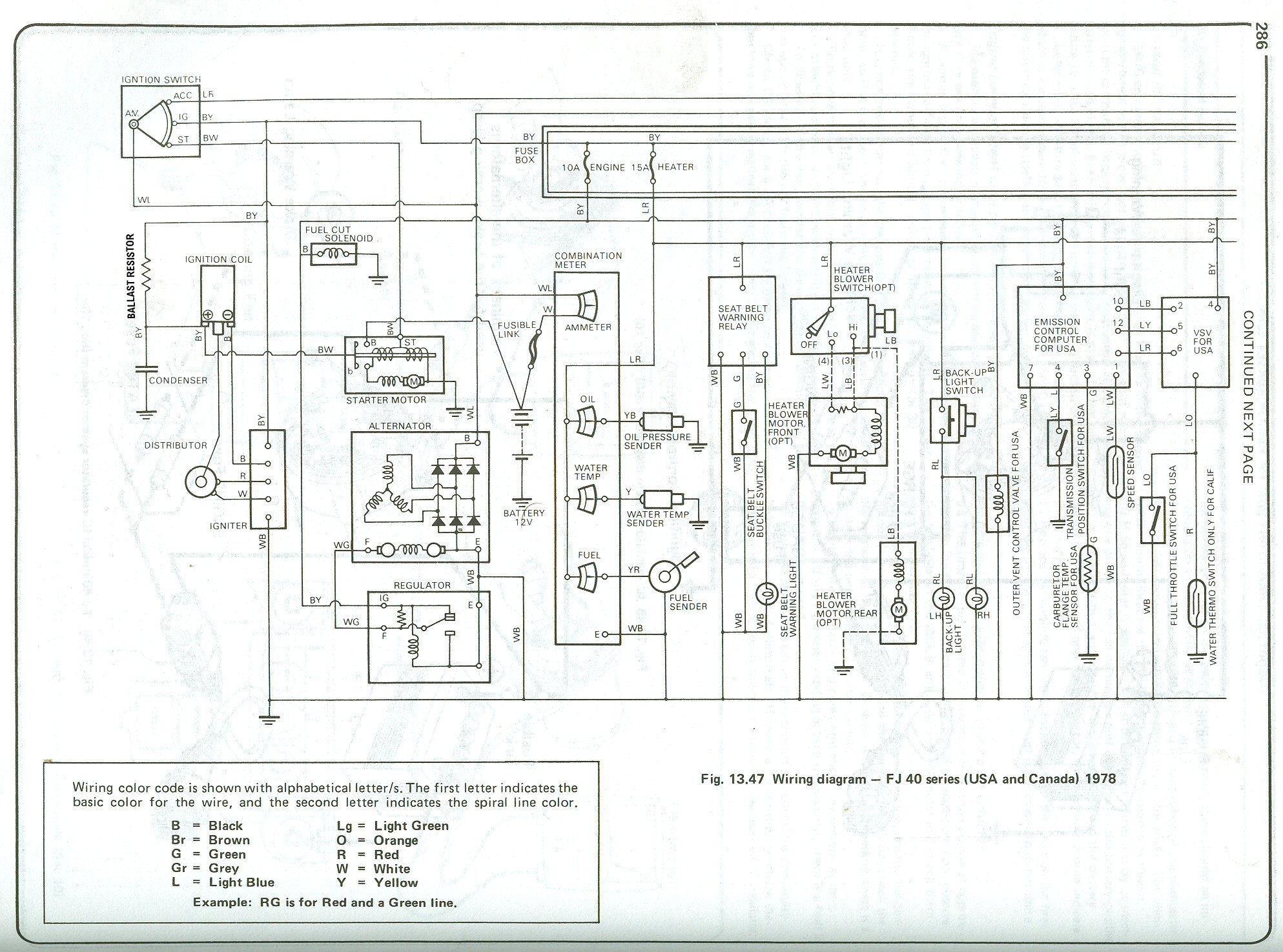 1978 fj40 wiring diagram 1998 bmw z3 radio 3978 issue easy solution ih8mud forum