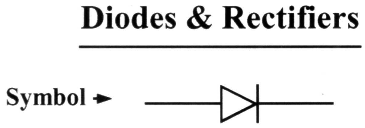 power diodes used as halfwave rectifiers