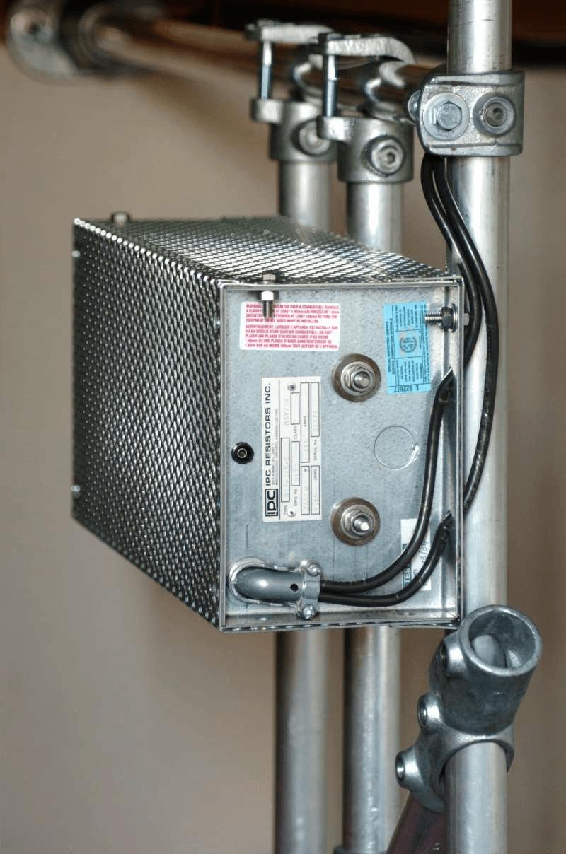 hight resolution of dynamic braking resistor