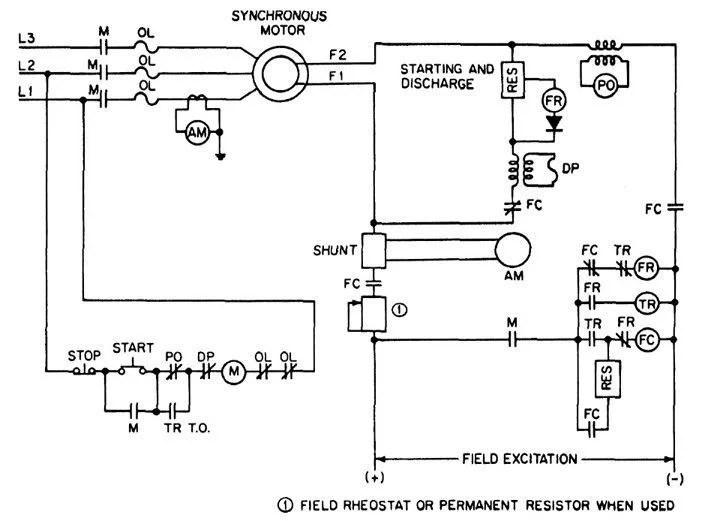 Ac Motor Wiring Diagrams Ac Motor Wiring Diagrams Wirdig Electric