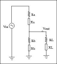 Voltage Divider Calculator For AC Circuits With Load at