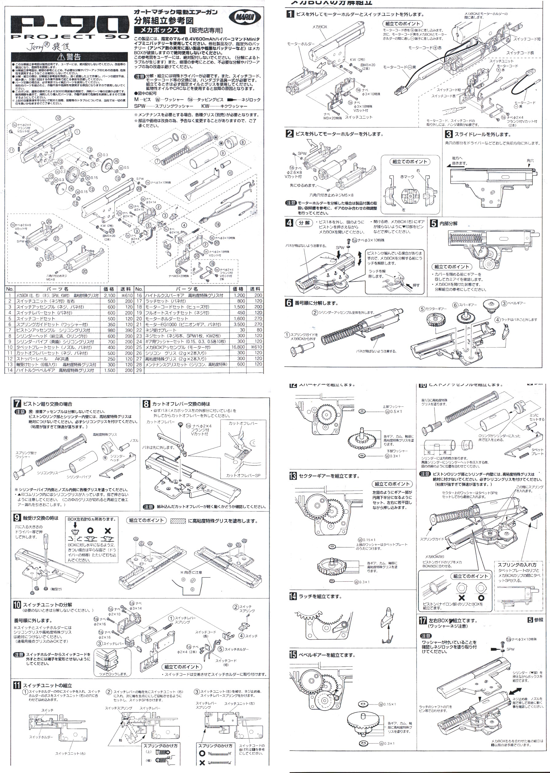 P90, FN Herstal, Five-seveN, Tokyo Marui, Triple Rail