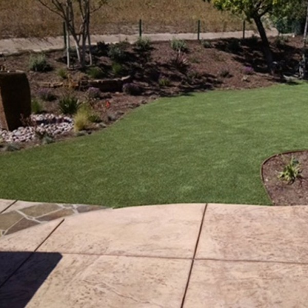 artificial turf landscaping ideas