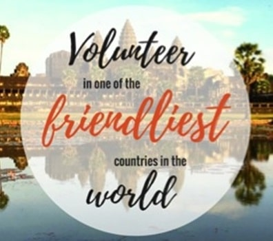 Volunteer in one of the friendliest countries in the world