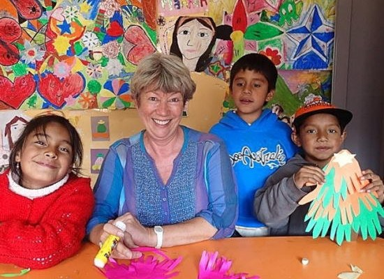 Volunteer at the Peru community project