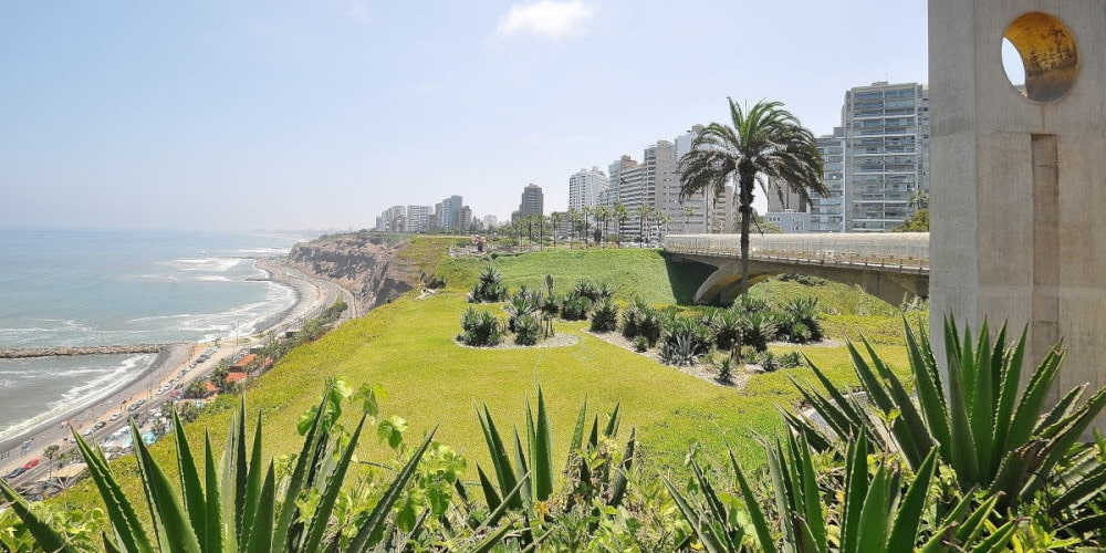 Miraflores coast, Lima, Peru