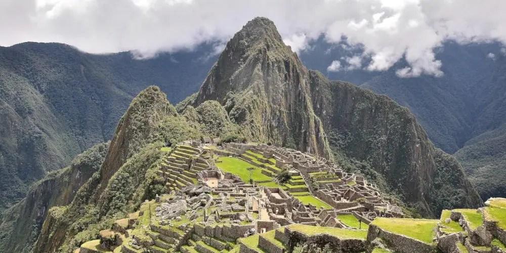 The amazing Machu Picchu