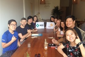 Corporate Group visits Cambodia Community Project