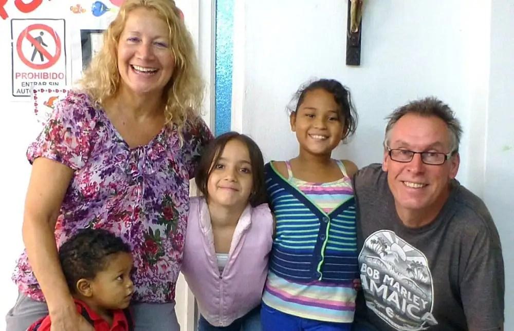 Mature volunteers abroad