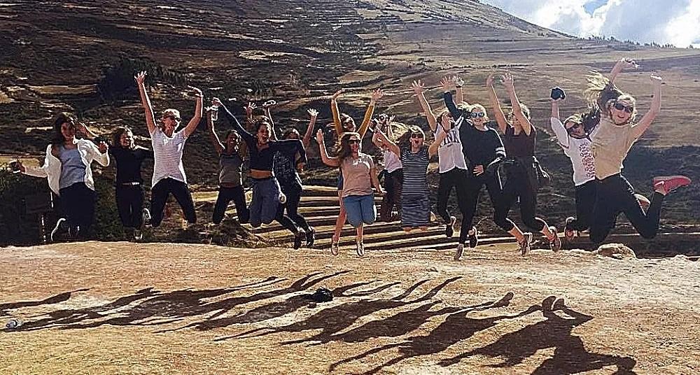 School volunteering trips abroad