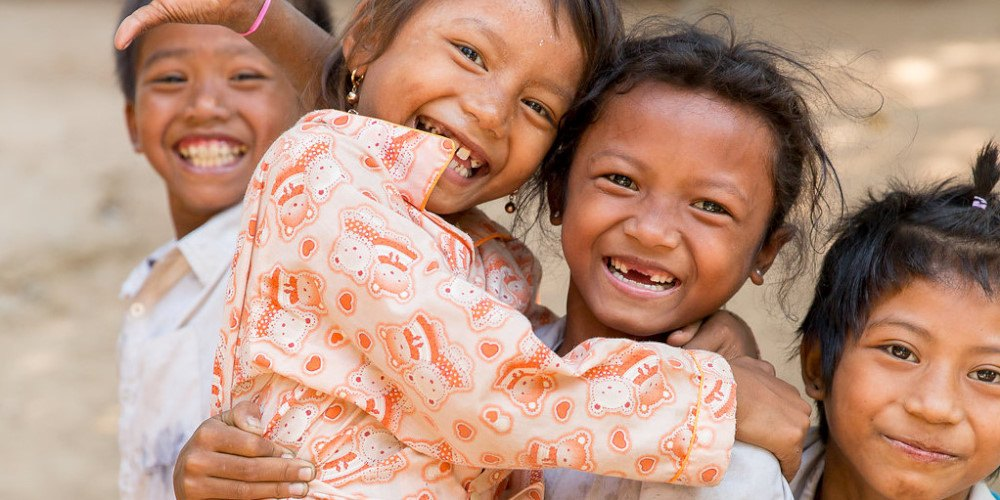 Children at the Cambodia Community Project