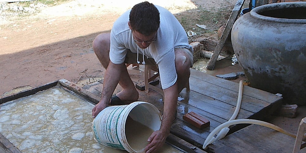 Volunteer at the Cambodia Clean Water project