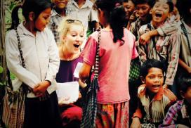 Volunteer at the Cambodia Community project