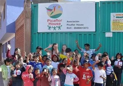 Picaflor House Peru children's project