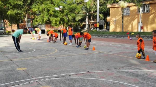 Soccer at Colombia Kids Project