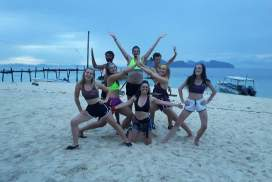 Volunteers at the Borneo Project
