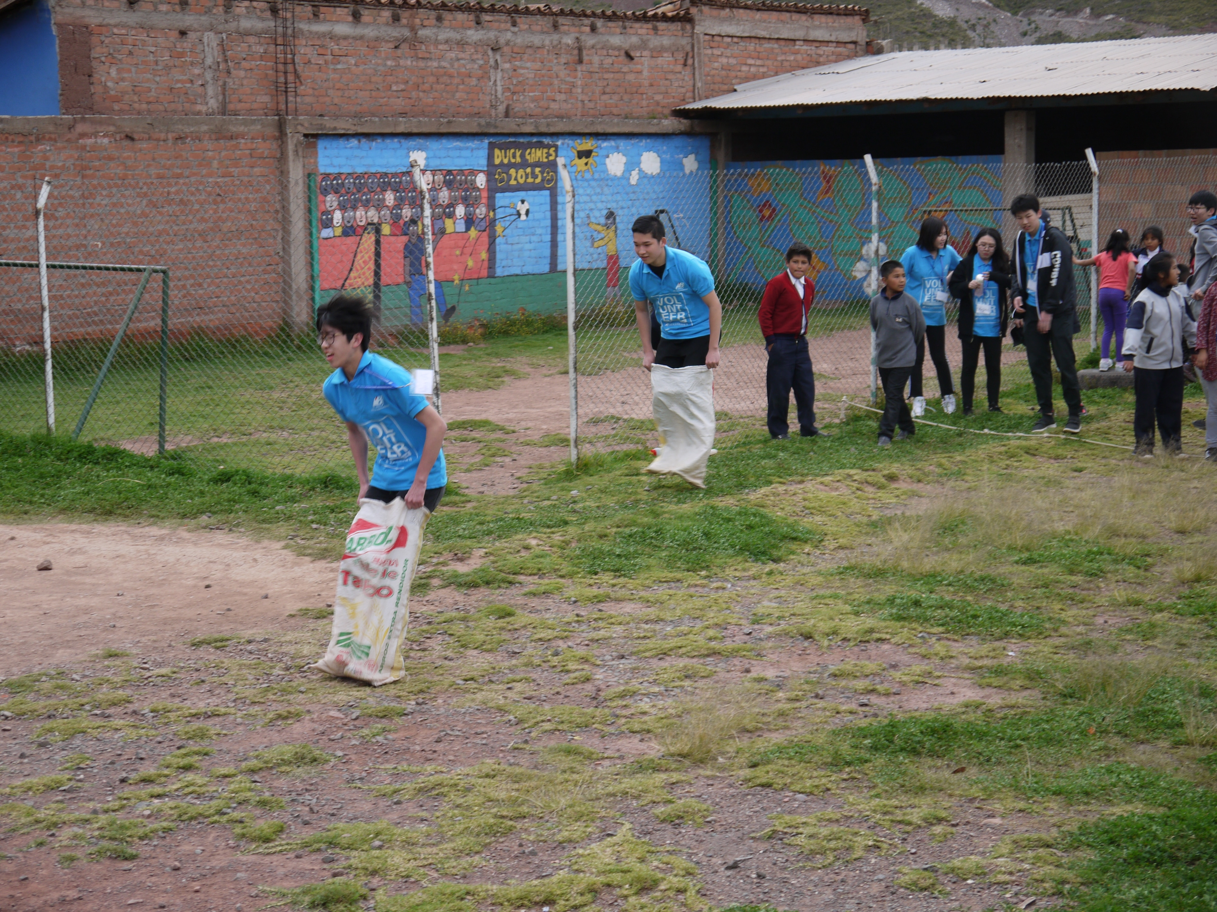 Games Day at Peru Community Project