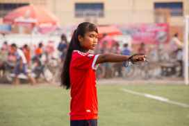 Empowering women and girls through sports in Cambodia