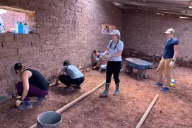Building Cuy House Peru