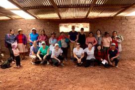 Setting up the Peru Women Empowerment Project