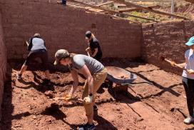 Building Cuy House Cusco