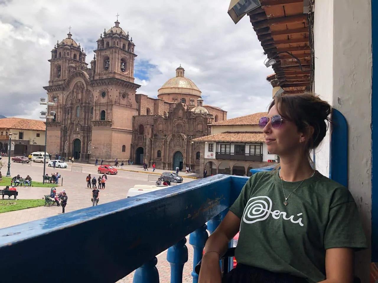 Evie - a vegetarian in Cusco