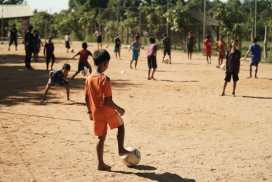 Sports Programme Cambodia helping students to build confidence