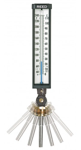 REED 9VU35-305 30 to 300°F/0 to 149°C Industrial Thermometer