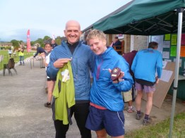 V50 winner and 2nd Lady
