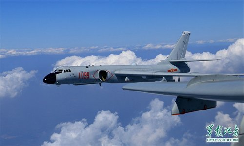 Image result for H-6K bombers, photos