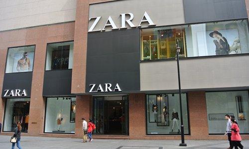 Chinese internet applauds Zara statement after Hong Kong store incident - Global Times