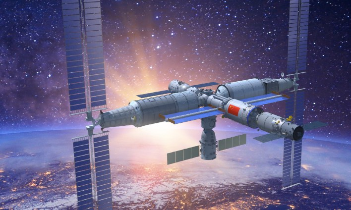 china successfully launches core module for its space station, kicking off intense construction phase - global times