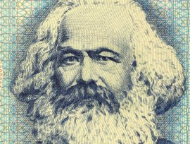 Karl Marx: Unknown fan of capitalism Global trade—not love—will bring  us together.