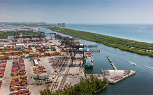 BERTH OF A NATION Port Everglades' berth-expansion project will lengthen the existing deepwater turn-around area for cargo ships from 900 feet to 2,400 feet.