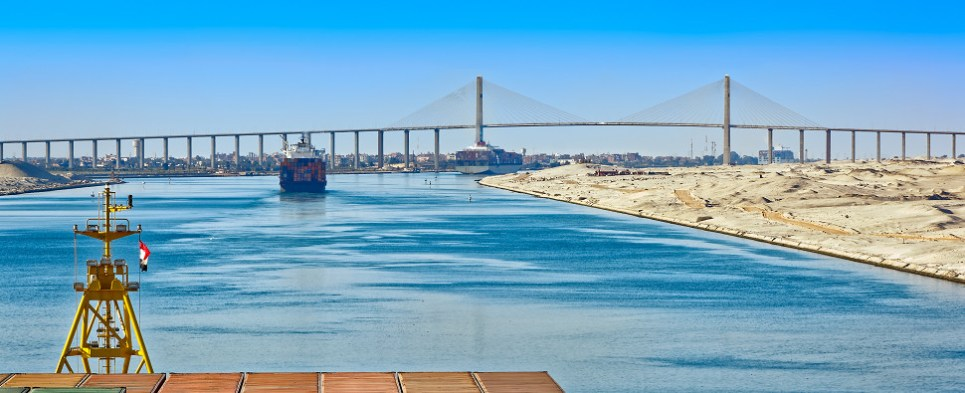 Reliability of ocean carriers transporting export cargo shipments and import cargo shipments slipped. Cargo shipmment reliability is expected to improve with the expanded Suez Canal which will improve global logistics.