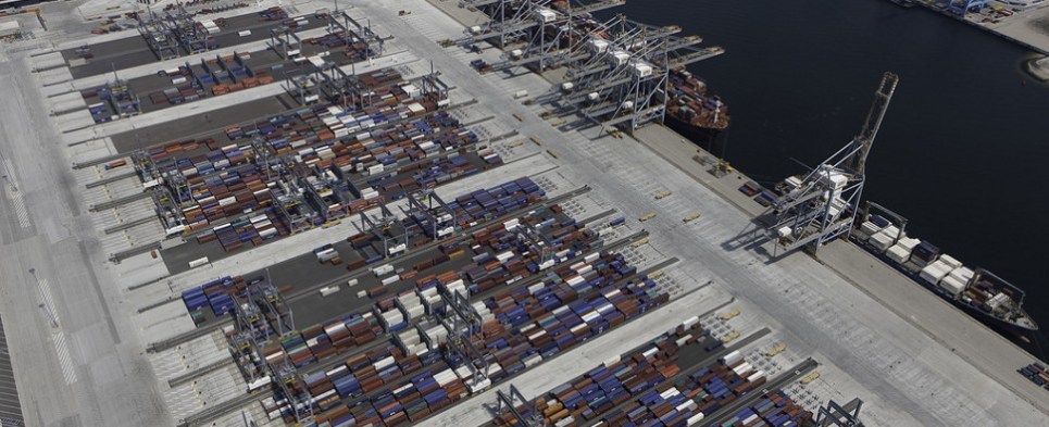 New terminal in Rotterdam will service as ocean carrier MOL's European hub, allowing the ship line to handle more shipments of import cargo and export cargo to and from Europe.