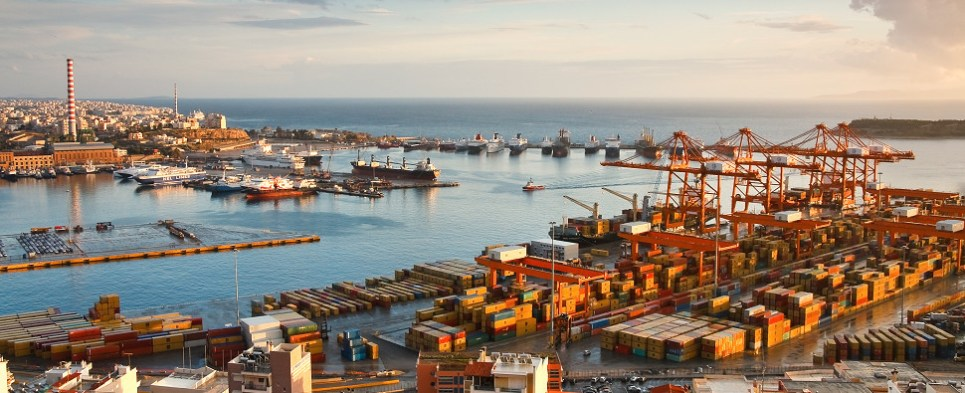 Privatization of Greek ports which was part fo bailout plan is now back on track with international terminal operators bidding to handle export shipments and imports shipments in international trade at two Greek ports.