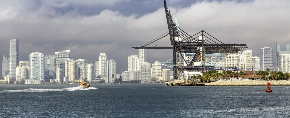 Completion of infrastructure improvements at PortMiami has transformed the port into a major logistics hub, allowing for the handling of greater volumes of import cargo and export cargo in international trade.