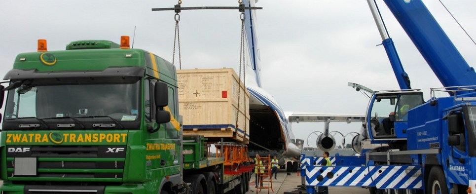 Delivery of oil pump from Netherlands to Trukmenistan is example of specialty services of carriers like Volga-Dnepr for export shipments of project and heavy lift cargo and for import shipments of project and heavy lift cargo.
