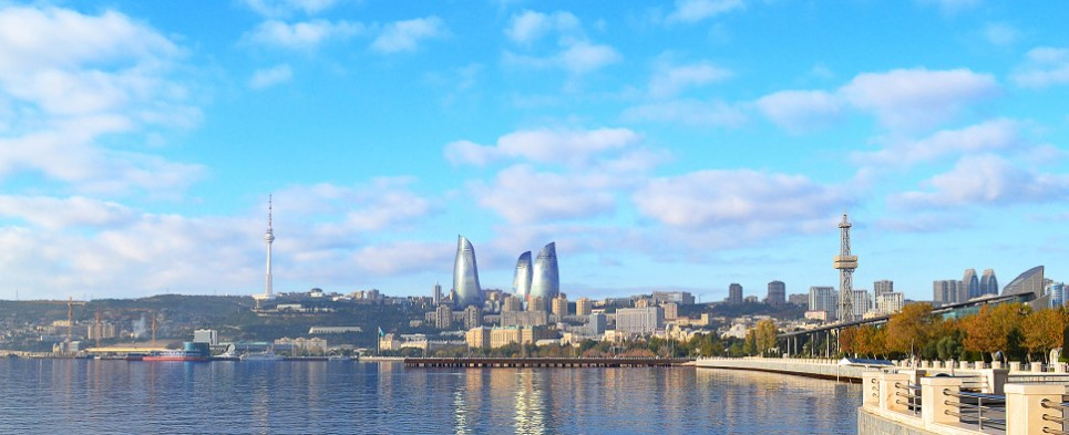 Development of oil and gas resources in Caspian means that Azerbaijan will be shipping more export cargo and import cargo in international trade, particularly to Europe.