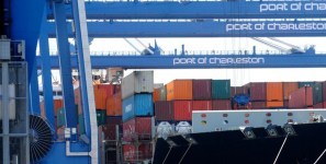 The ports of South Carolina handled increased volume of export cargo and import cargo in international trade in multiple categories.