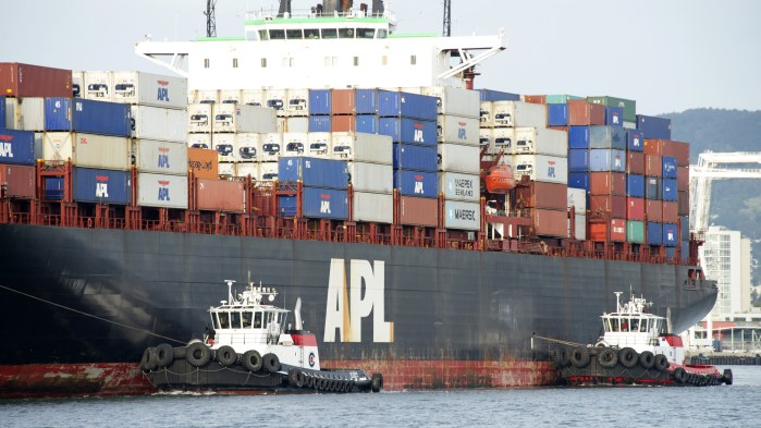 UG government alleged APL failed to fulfill terms of shipping contract to transport shipments of export cargo and import cargo in international trade.