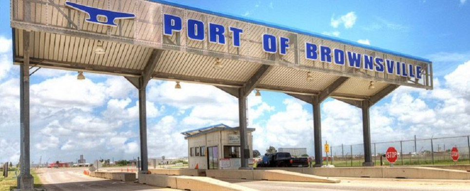New dock at port of Brownsville will enable it to handle more shipments of export cargo and import cargo in international trade.